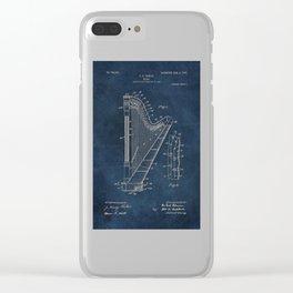 Ekman  Harp  patent art Clear iPhone Case