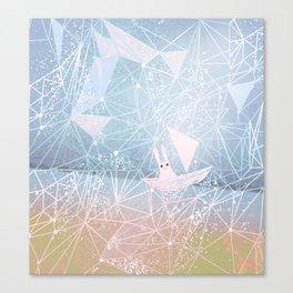 sailing through the light Canvas Print
