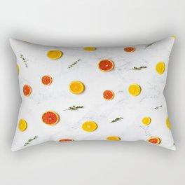 orange slices pattern Rectangular Pillow