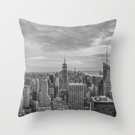 View Empire State Throw Pillow