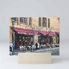 Parc Bistro, Philadelphia, Rittenhouse Square Mini Art Print