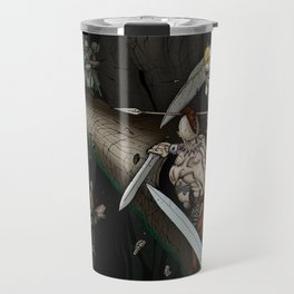 Party Crossing the Stone Bridge Travel Mug