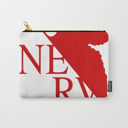 NERV Red Logo Carry-All Pouch