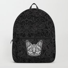 Egypt cat aztec pattern Backpack