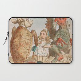 Scene from Alice in Wonderland Laptop Sleeve