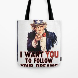 My Uncle Sam Tote Bag