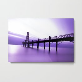 Purple Dawn Metal Print