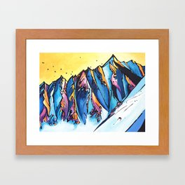 The Chugach Framed Art Print