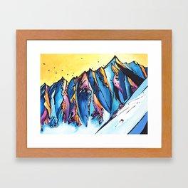The Chugach Framed Art Print