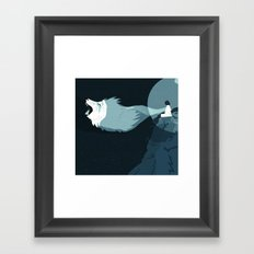 I call upon the universe Framed Art Print