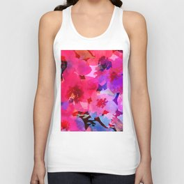 Poppy Shadows Unisex Tank Top