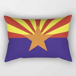 arizona state flag united states of america country Rectangular Pillow
