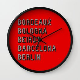 Join the Journey – Berlin Wall Clock