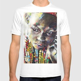 Reverie - Ethnic African portrait T-shirt