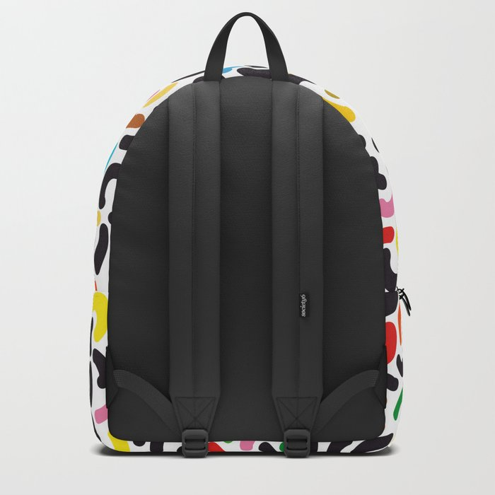 colored worms Backpack