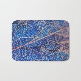 lovely leaf vein Bath Mat