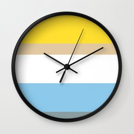 Colours of Homer Wall Clock