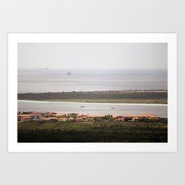 Bonaire and Klein Bonaire Art Print