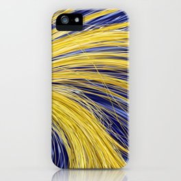 Light Burst's - Golden Light 1 iPhone Case