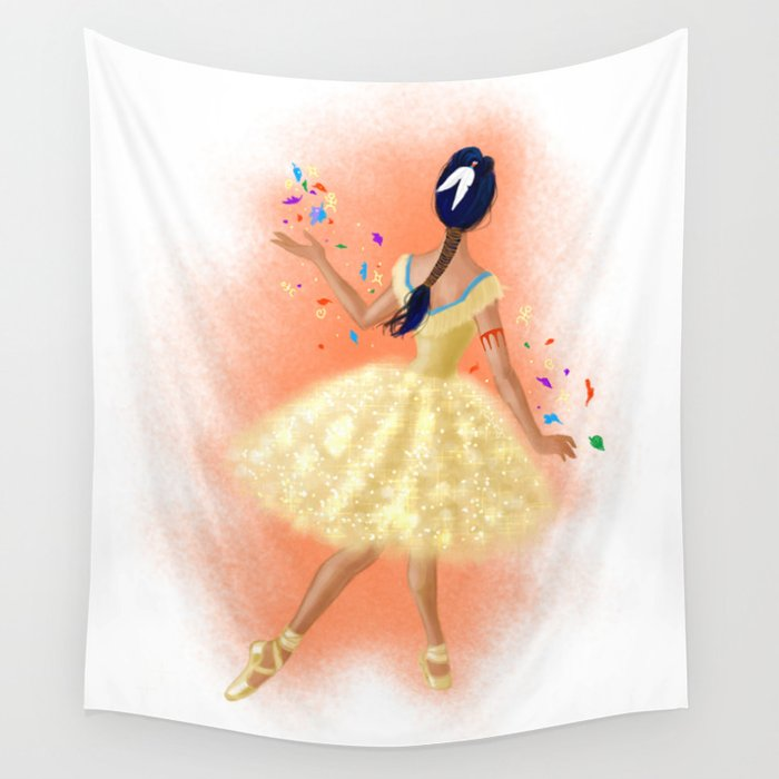 Colours of the Wind Wall Tapestry