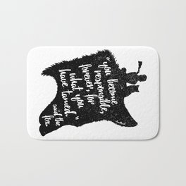 The Prince and the Fox Bath Mat