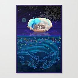 Sleeping Creativity (commission) Canvas Print
