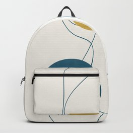 Free Abstract Shapes II Backpack