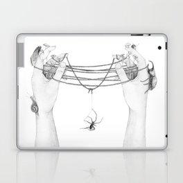 The Tangled Web We Weave Laptop & iPad Skin