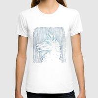 llama T-shirts featuring Llama by fletchgraham