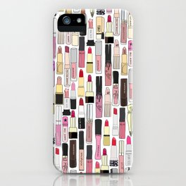 Lipstick Decoys iPhone Case