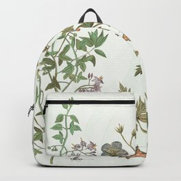 The fragility of living - botanical illustration Backpack