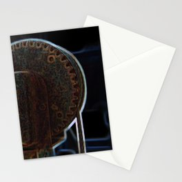 Circular Corrosion Stationery Cards