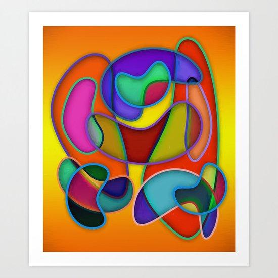 Abstract #359 Art Print