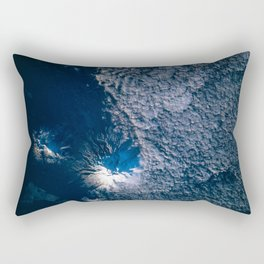 Eaarth observation of Ruapehu, New Zealand's North Island, one of the most active volcanoes in the South Pacific taken during STS-77 mission. May 28th, 1996 Rectangular Pillow