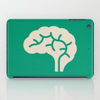brain iPad Cases featuring Brain by Blank & Vøid