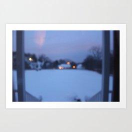 Lights Guide Me Home Art Print