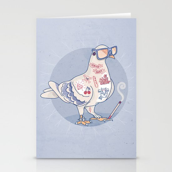 Stay Silver Stationery Cards