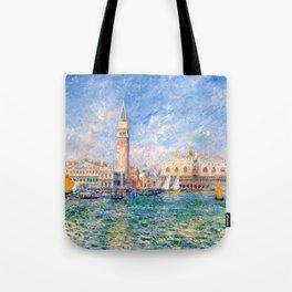 """Auguste Renoir """"Vue de Venise (Le Palais des Doges)"""" Tote Bag"""
