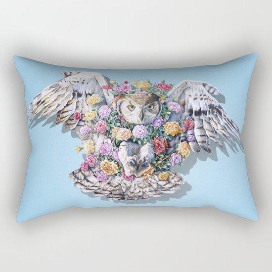 Birds in Bloom Rectangular Pillow