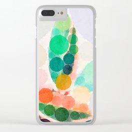 Sweet Leaf Clear iPhone Case