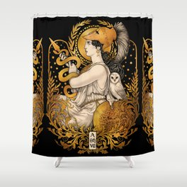 PALLAS ATHENA Shower Curtain