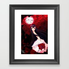 Tears ft. Rokurokubi Framed Art Print