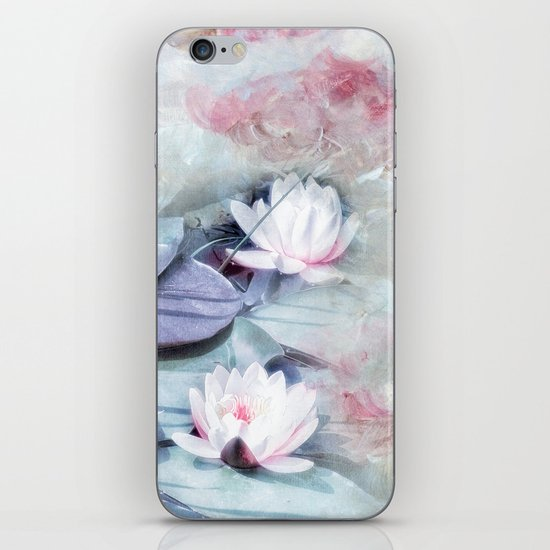 SUMMER LILY POND iPhone & iPod Skin