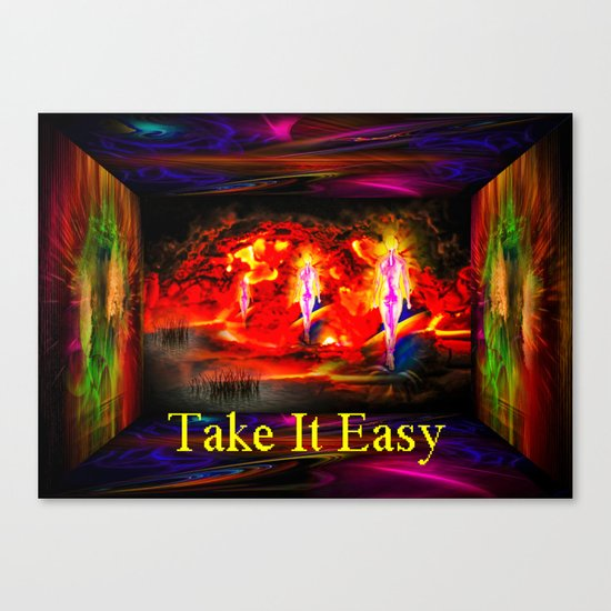 Heavenly apparition  - Take It Easy Canvas Print