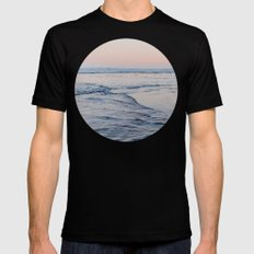 Pacific Dreaming Black MEDIUM Mens Fitted Tee