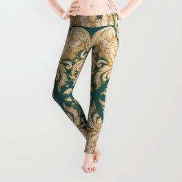 A Modern Vintage Dream (emerald green) Leggings