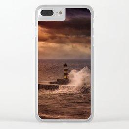 Poseidons Wrath Clear iPhone Case