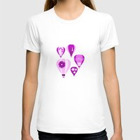 hot air balloons T-shirts featuring Lift Your Spirits Hot Air  Balloons by Belaci