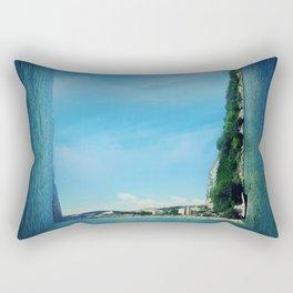 surreal sea Rectangular Pillow