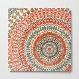 Mandala 155 Metal Print